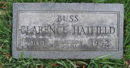 HATFIELD, CLARENCE - Union County, Ohio | CLARENCE HATFIELD - Ohio Gravestone Photos