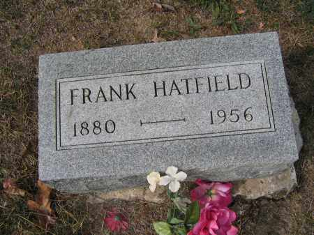 HATFIELD, FRANK - Union County, Ohio | FRANK HATFIELD - Ohio Gravestone Photos