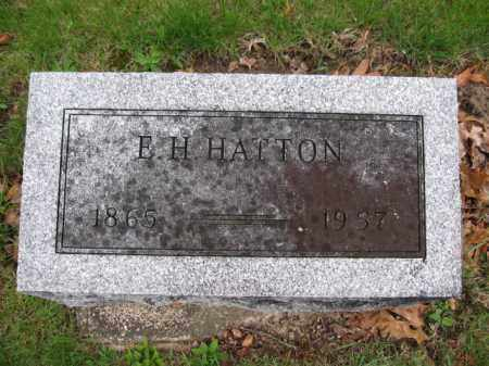 HATTON, E.H. - Union County, Ohio | E.H. HATTON - Ohio Gravestone Photos