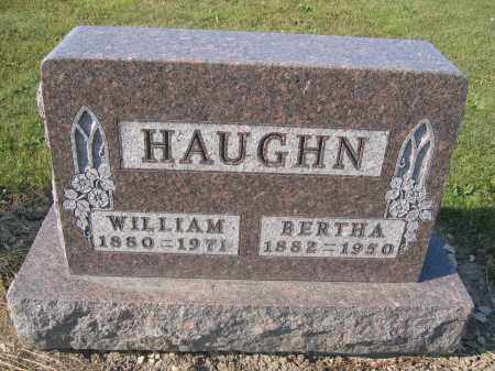 HAUGHN, BERTHA - Union County, Ohio | BERTHA HAUGHN - Ohio Gravestone Photos