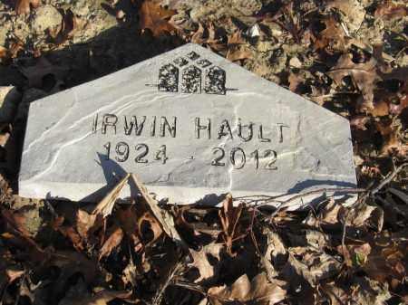 HAULT, IRWIN - Union County, Ohio | IRWIN HAULT - Ohio Gravestone Photos