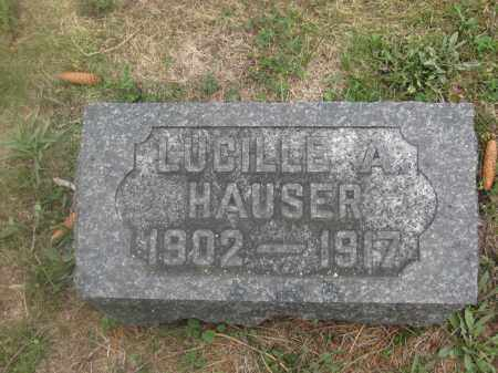 HAUSER, LUCILLE A. - Union County, Ohio | LUCILLE A. HAUSER - Ohio Gravestone Photos