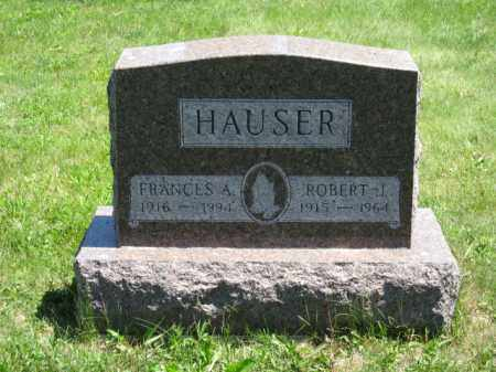 HAUSER, ROBERT J. - Union County, Ohio | ROBERT J. HAUSER - Ohio Gravestone Photos
