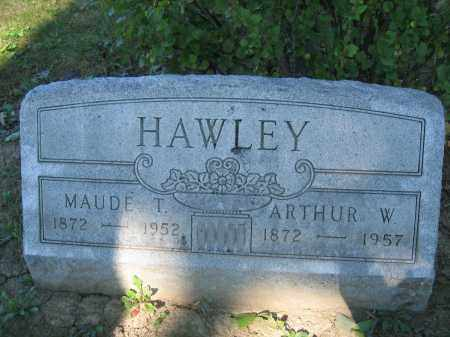HAWLEY, MAUDE T. - Union County, Ohio | MAUDE T. HAWLEY - Ohio Gravestone Photos