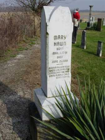 HAWN, MARY - Union County, Ohio | MARY HAWN - Ohio Gravestone Photos