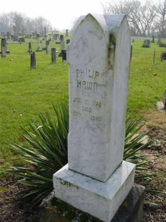 HAWN, PHILP - Union County, Ohio | PHILP HAWN - Ohio Gravestone Photos