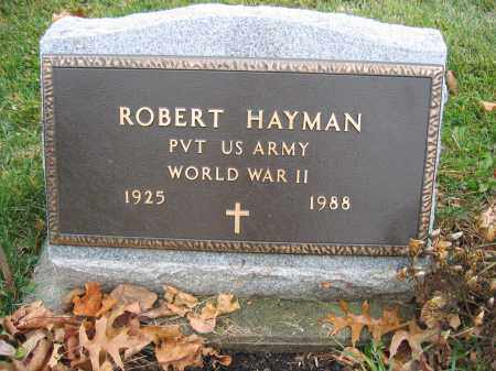HAYMAN, ROBERT - Union County, Ohio | ROBERT HAYMAN - Ohio Gravestone Photos