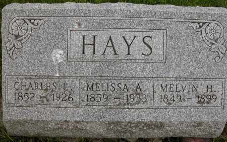 HAYS, MELVIN H. - Union County, Ohio | MELVIN H. HAYS - Ohio Gravestone Photos