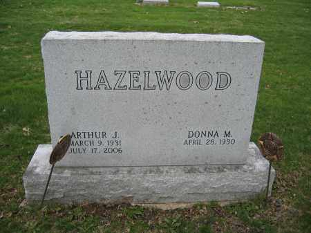 HAZELWOOD, DONNA M. - Union County, Ohio | DONNA M. HAZELWOOD - Ohio Gravestone Photos