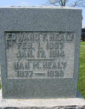 HEALY, EDWARD F. - Union County, Ohio | EDWARD F. HEALY - Ohio Gravestone Photos