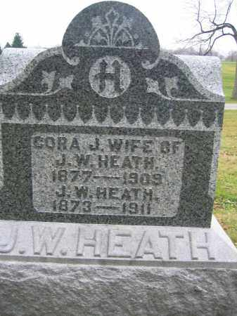 HEATH, J.W. - Union County, Ohio | J.W. HEATH - Ohio Gravestone Photos