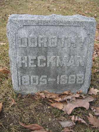 HECKMAN, DOROTHY - Union County, Ohio | DOROTHY HECKMAN - Ohio Gravestone Photos
