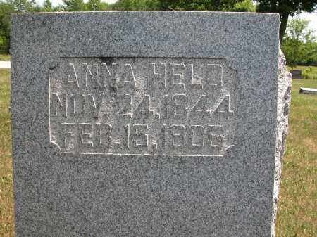 HELD, ANNA - Union County, Ohio | ANNA HELD - Ohio Gravestone Photos