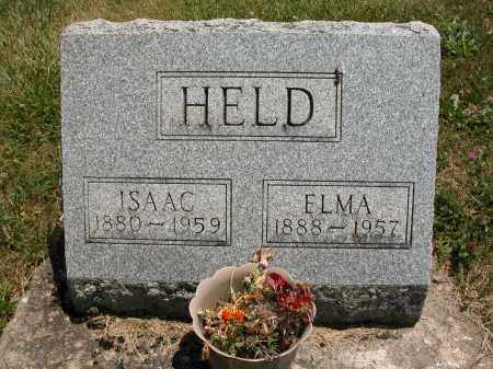 HELD, ELMA - Union County, Ohio | ELMA HELD - Ohio Gravestone Photos