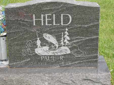 HELD, PAUL R. - Union County, Ohio | PAUL R. HELD - Ohio Gravestone Photos