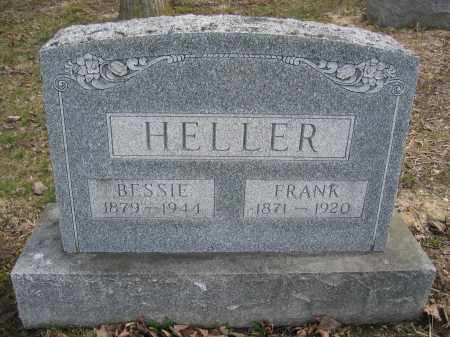 HELLER, FRANK - Union County, Ohio | FRANK HELLER - Ohio Gravestone Photos