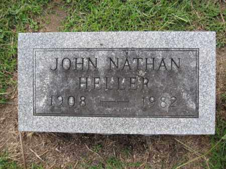 HELLER, JOHN NATHAN - Union County, Ohio | JOHN NATHAN HELLER - Ohio Gravestone Photos