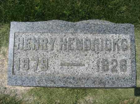 HENDRICKS, HENRY - Union County, Ohio | HENRY HENDRICKS - Ohio Gravestone Photos
