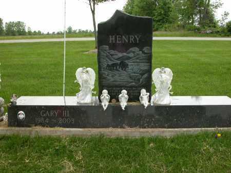 HENRY, GARY III - Union County, Ohio | GARY III HENRY - Ohio Gravestone Photos