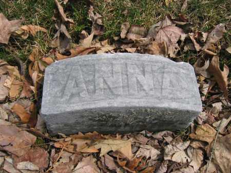 HENSLEY, ANNA - Union County, Ohio | ANNA HENSLEY - Ohio Gravestone Photos