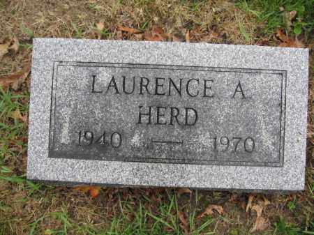 HERD, LAURENCE A. - Union County, Ohio | LAURENCE A. HERD - Ohio Gravestone Photos