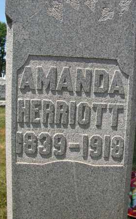HERRIOTT, AMANDA - Union County, Ohio | AMANDA HERRIOTT - Ohio Gravestone Photos