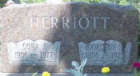 HERRIOTT, CORA J (MIKE) - Union County, Ohio | CORA J (MIKE) HERRIOTT - Ohio Gravestone Photos