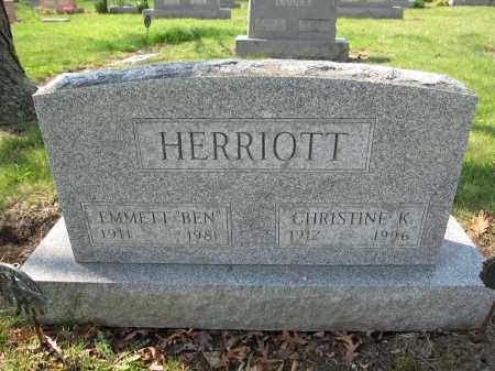 HERRIOTT, EMMETT - Union County, Ohio | EMMETT HERRIOTT - Ohio Gravestone Photos