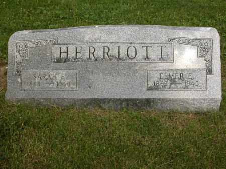 HERRIOTT, SARAH E. - Union County, Ohio | SARAH E. HERRIOTT - Ohio Gravestone Photos