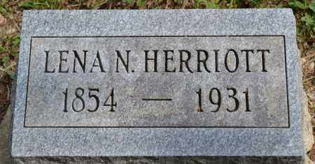 HERRIOTT, LENA N. - Union County, Ohio | LENA N. HERRIOTT - Ohio Gravestone Photos