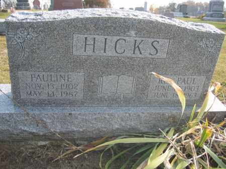 HICKS, PAUL - Union County, Ohio | PAUL HICKS - Ohio Gravestone Photos