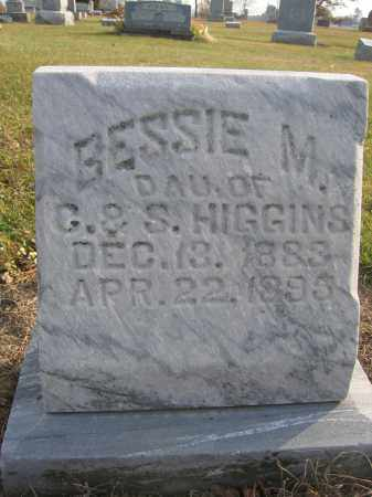 HIGGINS, BESSIE M. - Union County, Ohio | BESSIE M. HIGGINS - Ohio Gravestone Photos