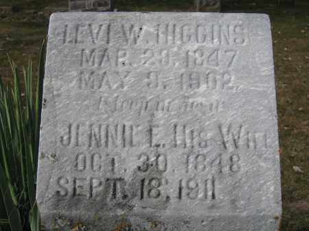 HIGGINS, JENNIE E. - Union County, Ohio | JENNIE E. HIGGINS - Ohio Gravestone Photos
