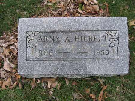 HILBERT, ARNY A. - Union County, Ohio | ARNY A. HILBERT - Ohio Gravestone Photos