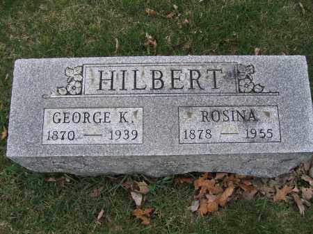 HILBERT, GEORGE K. - Union County, Ohio | GEORGE K. HILBERT - Ohio Gravestone Photos