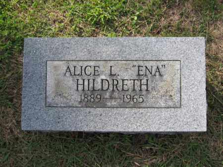 HILDRETH, ALICE L. - Union County, Ohio | ALICE L. HILDRETH - Ohio Gravestone Photos