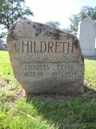 HILDRETH, EFFIE - Union County, Ohio | EFFIE HILDRETH - Ohio Gravestone Photos