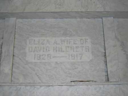HILDRETH, ELIZA A. - Union County, Ohio | ELIZA A. HILDRETH - Ohio Gravestone Photos