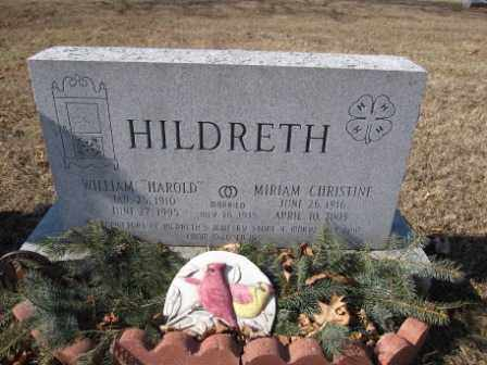 HILDRETH, WILLIAM - Union County, Ohio | WILLIAM HILDRETH - Ohio Gravestone Photos
