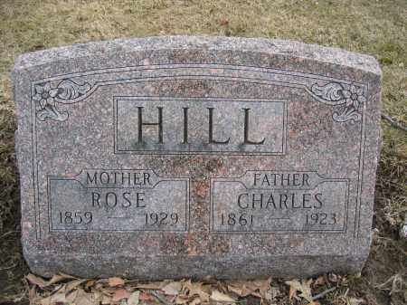 HILL, ROSE - Union County, Ohio | ROSE HILL - Ohio Gravestone Photos