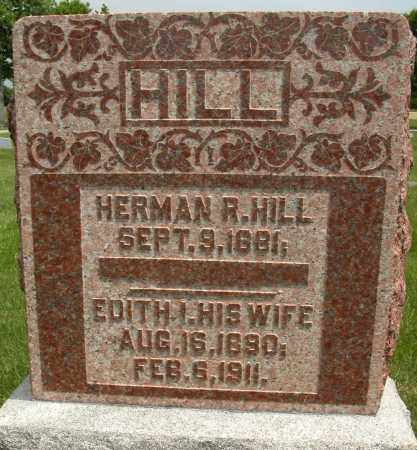 HILL, HERMAN R. - Union County, Ohio | HERMAN R. HILL - Ohio Gravestone Photos