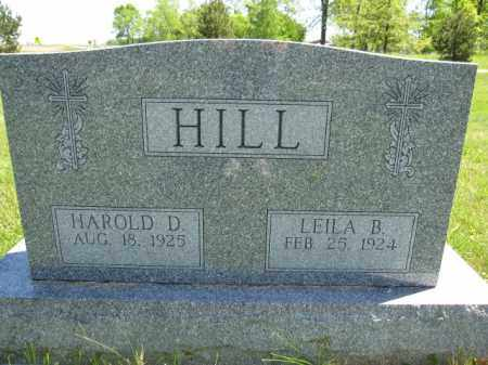 HILL, HAROLD D. - Union County, Ohio | HAROLD D. HILL - Ohio Gravestone Photos