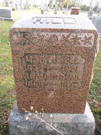 HILL, MARY - Union County, Ohio | MARY HILL - Ohio Gravestone Photos