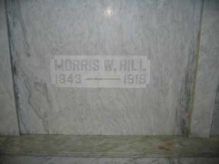 HILL, MORRIS W. - Union County, Ohio | MORRIS W. HILL - Ohio Gravestone Photos