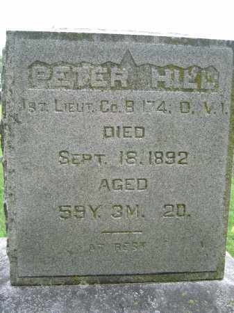 HILL, PETER - Union County, Ohio | PETER HILL - Ohio Gravestone Photos