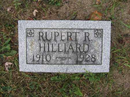 HILLIARD, RUPERT R. - Union County, Ohio | RUPERT R. HILLIARD - Ohio Gravestone Photos