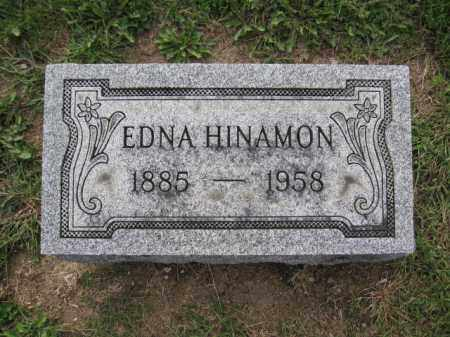 HINAMON, EDNA - Union County, Ohio | EDNA HINAMON - Ohio Gravestone Photos