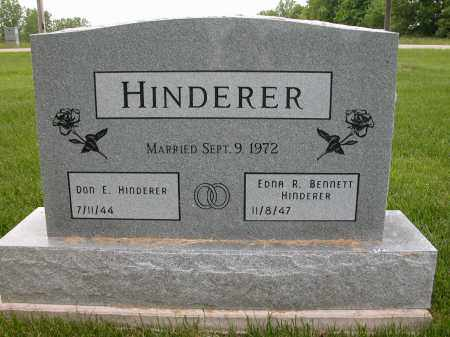 HINDERER, DON E. - Union County, Ohio | DON E. HINDERER - Ohio Gravestone Photos