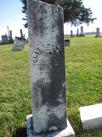 HINES, ELIZABETH - Union County, Ohio | ELIZABETH HINES - Ohio Gravestone Photos