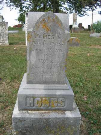 HOBBS, JAMES E. - Union County, Ohio | JAMES E. HOBBS - Ohio Gravestone Photos